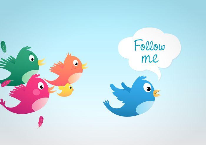 10 razones para seguir a alguien en Twitter