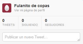 Cero tweets