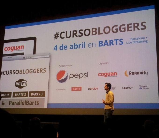 Carlos Bravo #cursobloggers de Barcelona