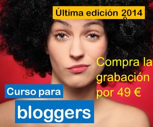 Grabación Curso para Bloggers