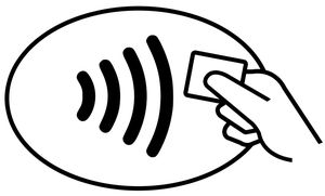 Logo contactless