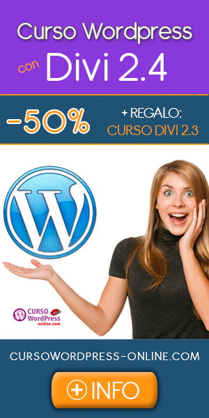 Curso WordPress + DIVI 2.4