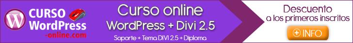 Curso Online WordPress + DIVI 2.5